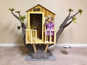 american girl doll tree house retired american girl kit s tree house ebay