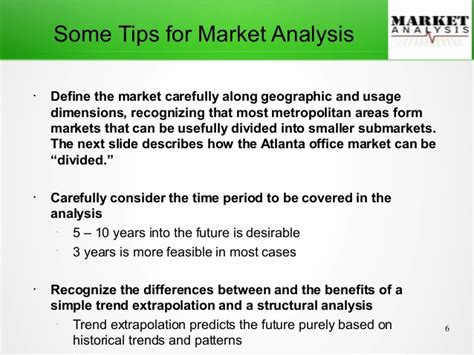 market analysis real estate market analysis overview
