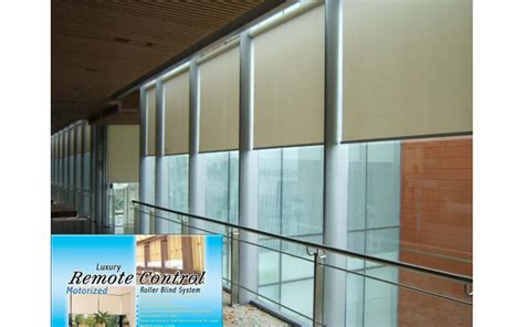 motorized roller blinds 2 meter motorized roller blinds length can be customized