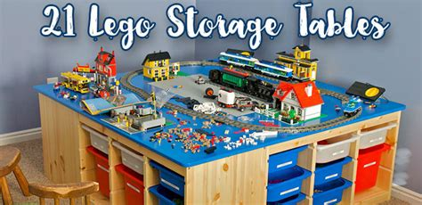 lego table and storage lego table the 21 best lego storage tables