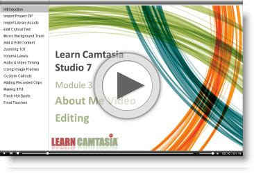 camtasia 7 editing learn camtasia