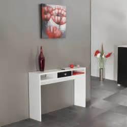 console 1 tiroir blanc noir 2030a2176a17 achat vente