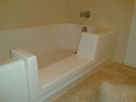 how to install a bathtub insert top bathtub insert over existing wallpapers