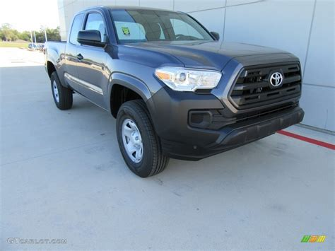 magnetic gray 2017 magnetic gray metallic toyota tacoma sr cab
