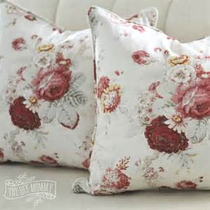sew a piped zippered pillow cover tutorial the