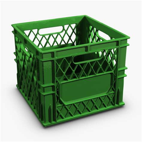 colored milk crates colored plastic milk crate 3d max