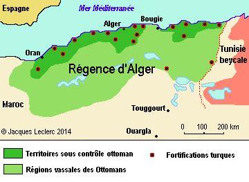 Alger Ottomane by Alg 233 Rie Donn 233 Es Historiques
