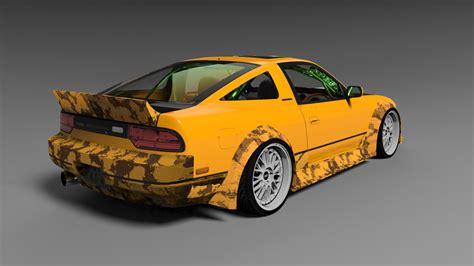 nissan car models nissan 240 sx s13 3d model 3ds cgtrader com