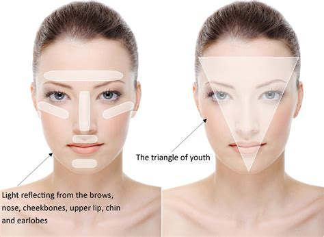 before and after pics of triangle face hairstyles triangle of youth make up godess pinterest youth