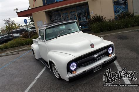 classic ford   pickup truck  west coast customs