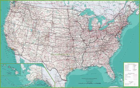 large usa wall map carte des usa etats unis cartes du relief villes