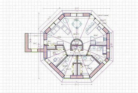 Octagonal House Plans by Carlingford Vacation Home Plan 072d 0721 House Plans And