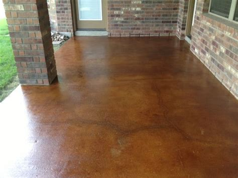 concrete floor finishes color finish trial on poured 17 best images about deck ideas on pinterest stained