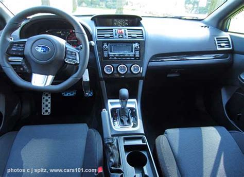 subaru wrx cvt interior 2015 subaru wrx interior photo research page