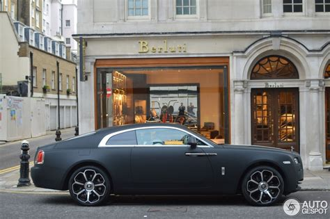 matte rolls royce wraith the life files welcome to exclusiveness the world s
