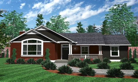 one story house designs one level house plans