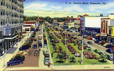 Pensacola Records Florida Memory Palafox Pensacola Florida