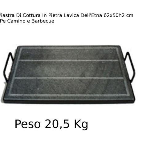 pietra lavica per camino piastra di cottura in pietra lavica delletna xl 62x50xh 2