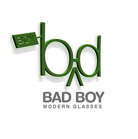 boys bad design bad boy modern glasses shop logo design on behance