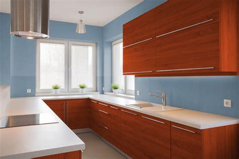 Beautiful Colori Pareti Per Cucine #1: image.axd?picture=2016%2f6%2fPareti-Azzurre-Cucina-Ciliegio.jpg