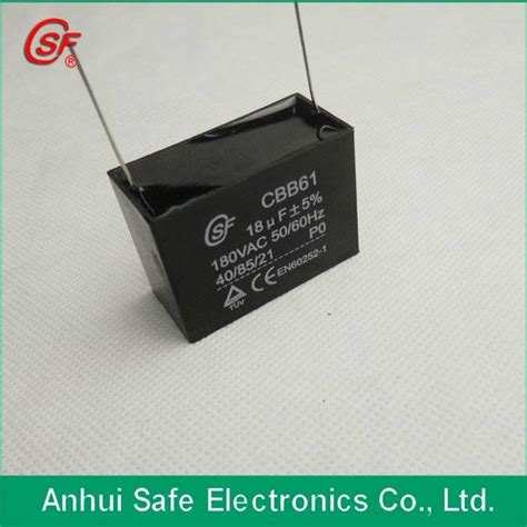 capacitor uses in fan electric fan motor capacitor cbb61 csf saifu china manufacturer other electrical