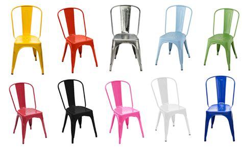 la mythique chaise a de tolix joli place
