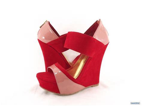 imagenes de sapatillas rojas zapatillas de plataforma rojas