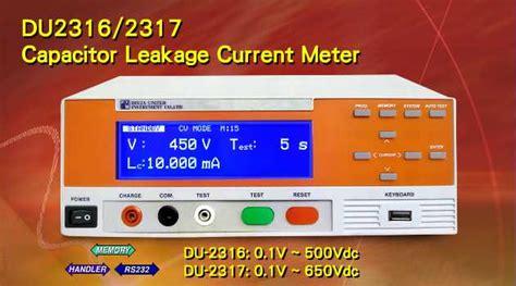 capacitor leakage current meter capacitor leakage current meter 28 images model 11200 capacitor leakage current ir meter clc