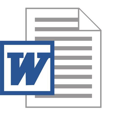 Micro Word File Microsoft Word Doc Logo Svg Wikimedia Commons