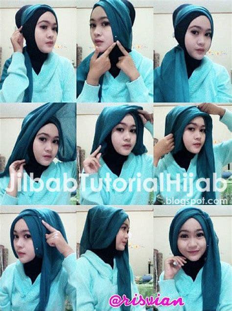 tutorial hijab simple ke kondangan tutorial hijab layer sing untuk ke kantor dan kus