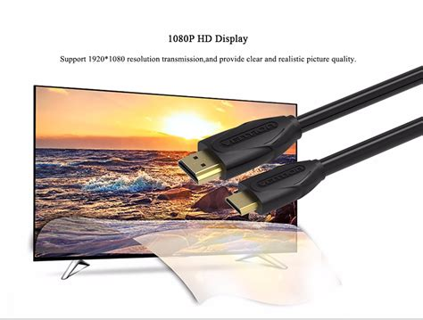 D02 3m Vention Kabel Hdmi To Mini Hdmi V1 4b Hd 3d Termurah vention vaa d02 mini hdmi to hdmi cable 1 4v 1080p 1 2 3m high premium hdmi adapter cable for