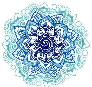 Lotus Flower Mandala Meaning Blue Lotus Geometry Mehndi Mandalas