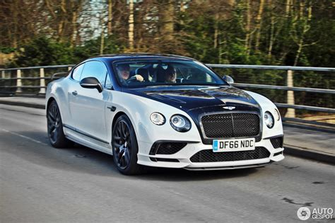 Bentley Continental Supersports Coup 233 2018 8 March 2017