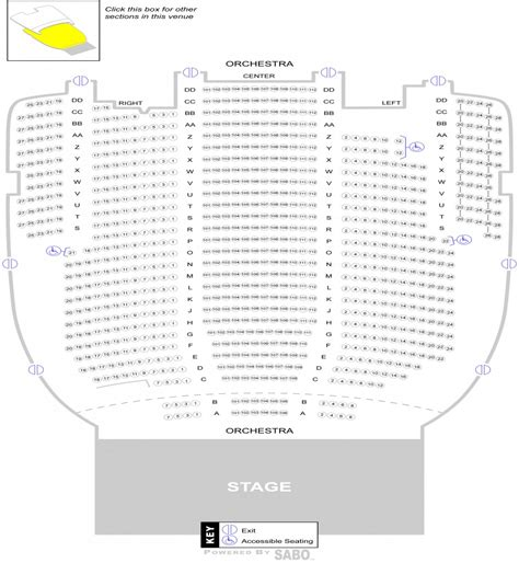 ohio theater seating chart state theater cleveland seating map brokeasshome
