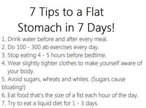 how to get a flat stomach after ac section daily motivation 25 photos flat stomach workout and