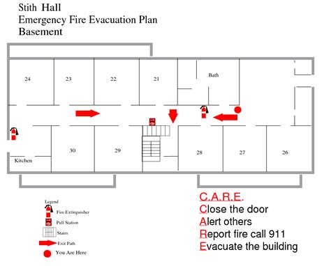fire exit floor plan template best photos of fire evacuation plan exle emergency