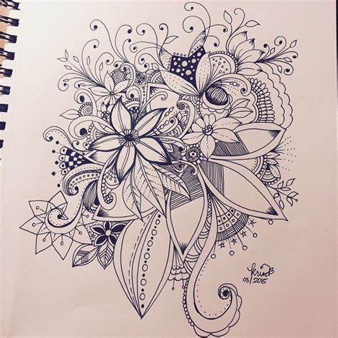 Sketches And Doodles by Kc Doodle Zentangles Doodles