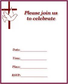 church invitation templates free free baby shower invitations free baby birth announcements