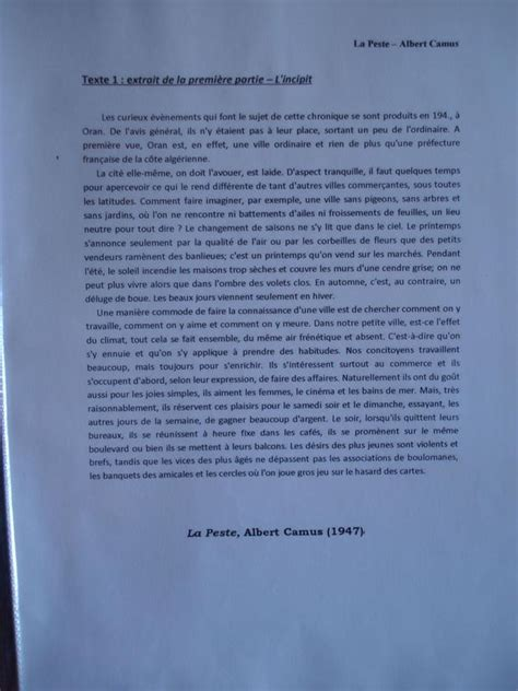 Présentation Lettre Français Bac le bac fran 231 ais en candidat libre 2 le corpus ou liste ou descriptif pr 233 sentation