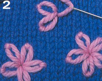 embroider flowers on knitting 115 best images about embroidery edging embellishments