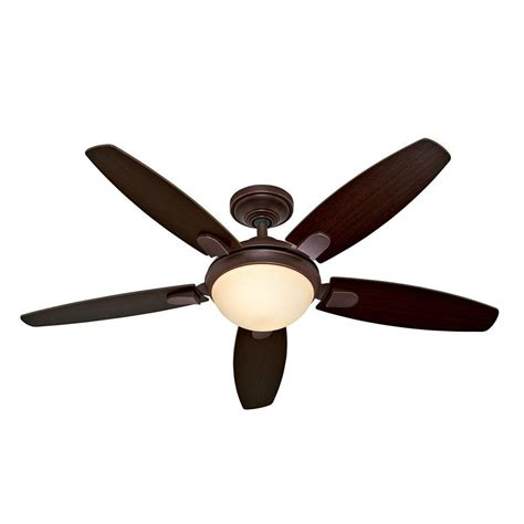 contempo 54 ceiling fan contempo 52 in indoor bronze ceiling fan