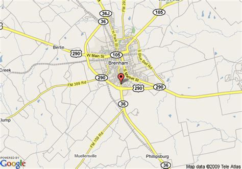 map of comfort suites brenham brenham