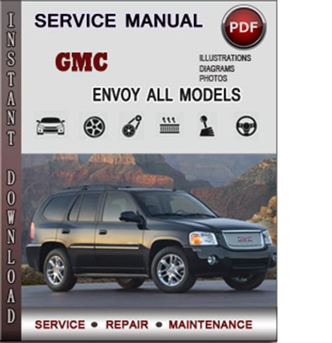 gmc envoy service repair manual download info service manuals
