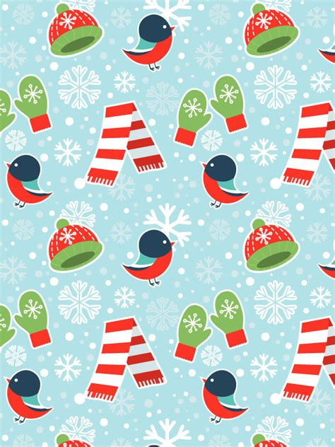 pattern illustrator tutorial create a cute winter seamless pattern in adobe illustrator