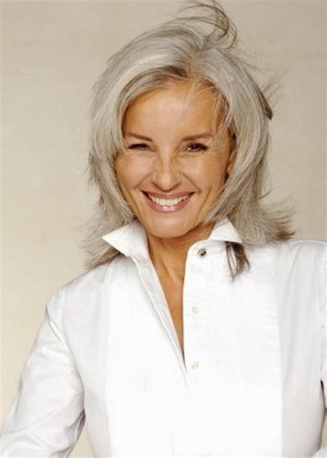 shag cuts for grey hair hairstyles gray hair