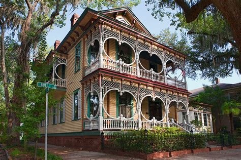 house types in georgia file gingerbread house in savannah jpg wikimedia commons