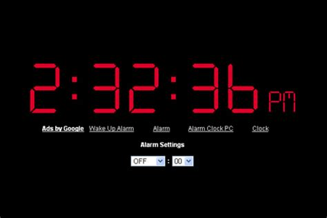 virtual  alarm clocks blueblotscom