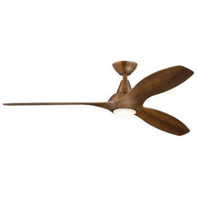 tidal ceiling fan tidal 56 in led indoor distressed koa ceiling fan