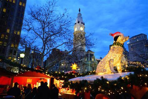 holiday shopping in philadelphia