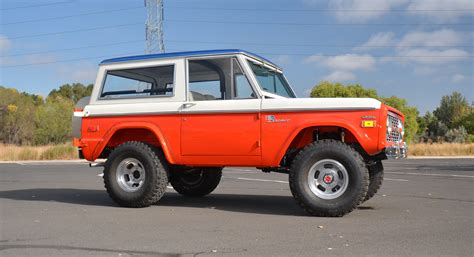 stroppe bronco 1971 ford bronco stroppe baja edition is retro delight